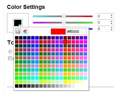 Pick a basic color